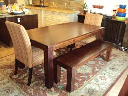dining room bench seating: dining table bench seat with back