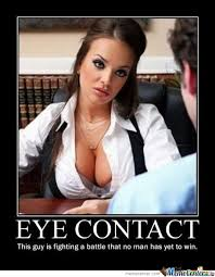 Eye Contact by negen - Meme Center via Relatably.com