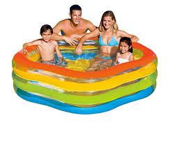 Бассейн <b>Summer Colors Intex</b> 56495 <b>185х180х53</b> см купить в ...