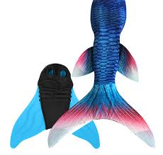 Girls <b>Women Mermaid</b> Tails with Flipper Swimmable Cosplay ...