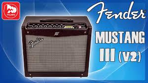 <b>Гитарный комбо FENDER MUSTANG</b> III (V2) - YouTube