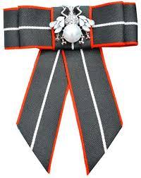 Ribbon Crystal Neck Tie Brooch Pin Bow Tie for Men ... - Amazon.com