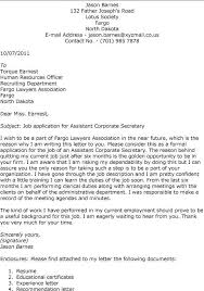 school secretary cover letter examples secretary cover letter example