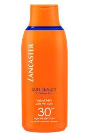 <b>Нежное молочко</b> для тела Sun Beauty <b>SPF30 LANCASTER</b> для ...