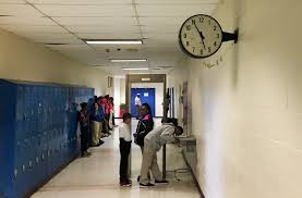 school funding in alabama a view from sumter county wbhm  at livingston junior high school the clock the windows and the bathrooms might