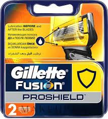 Сменные <b>кассеты</b> для бритья - <b>Gillette Fusion ProShield</b>