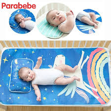 120X65 CM 2PC Baby bed mattress cool sheets for summer baby ...