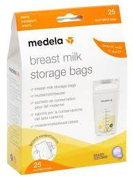 Medela <b>Пакеты для хранения грудного</b> молока 180 мл — купить ...