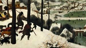 bruegel hunters in the snow winter video khan academy