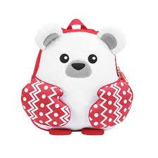 Рюкзак для детей <b>Мишка</b> полярный Nohoo