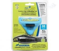 <b>FURminator FURflex насадка</b> против линьки M, для собак средних ...