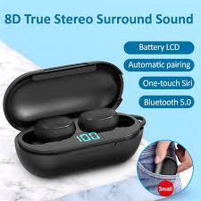 <b>H6</b> TWS Sports <b>Stereo Wireless</b> Headset In-ear Noise Canceling ...