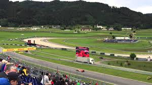view from red bull grandstand at 2015 austrian f1 grand prix austria view red bull