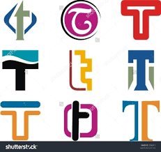 alphabetical logo design concepts letter t stock vector  alphabetical logo design concepts letter t check my portfolio for more of this series