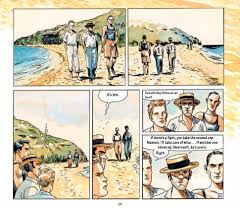 required reading classic gets the graphic novel reboot it deserves author and artist jacques ferrandez talks about and the controversial first sentence of the stranger