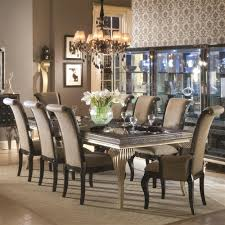 Formal Dining Room Decor Four Black Painted Wood Bow Backrest Dining Chairs Formal Dining