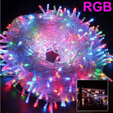 ECLH <b>10M</b> 5M 100Led 40Led String Garland Christmas Tree Fairy ...
