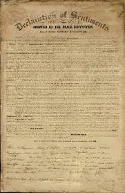 declaration of  elizabeth cady stanton and for women on pinterestdeclaration of sentiments  the declaration of sentiments was a petition for women    s rights signed in