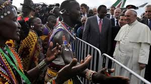 Image result for pope francis in kenya