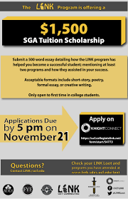 link sga tuition scholarship