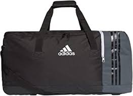 adidas Tiro <b>Team Holdall</b> Rucksack Duffel Bag <b>Large</b> Black ...
