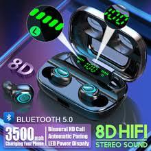 S11 3500mAh <b>Power</b> Bank Earphones Bluetooth Wireless Sport In ...