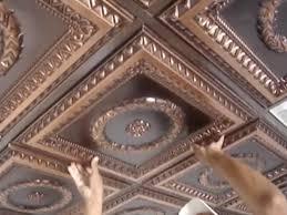 sagging tin ceiling tiles bathroom: how to install faux tin ceiling tiles for ceiling decoration ideas