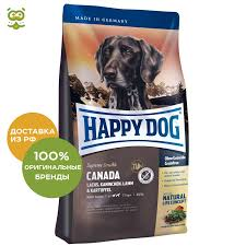 <b>Happy Dog Supreme</b> Sensible Canada food for adult dogs of all ...