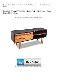 New Brand Festnight Wooden TV Cabinet Stand <b>Coffee Table</b> Living ...