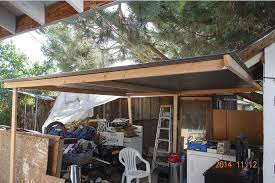 lean patio cover north west san how to put a simple shed perfect patio roof cover polycarbonate corrug