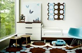 contemporary kids inspiration for a contemporary gender neutral toddler room remodel in indianapolis with white walls brilliant bedroom furniture sets lumeappco