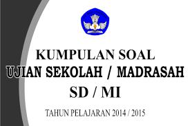 Hasil gambar untuk gambar ujian sekolah sd/mi 2015