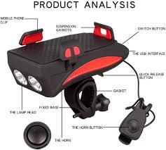 Pandao <b>Multifunctional</b> Headlight <b>Mobile Phone</b> Holder <b>4 In 1</b> ...