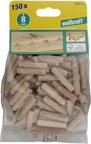 <b>Шканты</b> деревянные 150 шт Wolfcraft 2907000, 2907000 ...