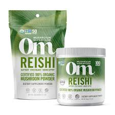 <b>Reishi</b>: Vitality. Immunity. <b>Longevity</b>. – Om, Organic <b>Mushroom</b> ...