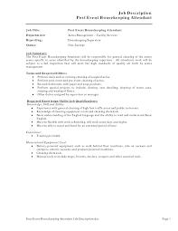 private housekeeper resumes   riixa do you eat the resume last house keeper duties housekeeping job description resume vienna