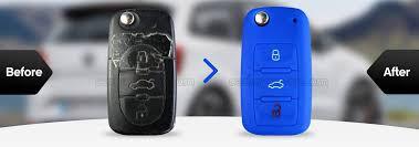 Car <b>Key Cover</b> - Coloured <b>silicone</b> car <b>key cover</b>! Car <b>key</b> Case ...