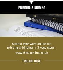 Thesis Binding   Blissett Bookbinders Blissetts