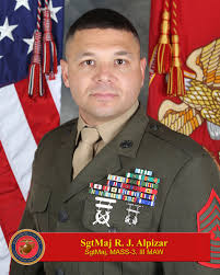 sergeant major rammses j alpizar > rd marine aircraft wing hi res photo