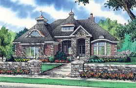 Beautiful Brick Home Plans  amp  Stone House Plans   Don GardnerHouse Plan The Eliana