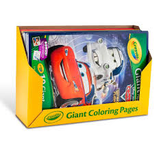 Small Picture Giant Coloring Pages Assorted Bulk Case Crayola