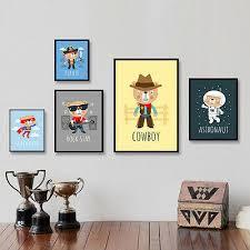 <b>Cartoon</b> Hero <b>Bear Poster Print</b> Canvas Wall <b>Art</b> Painting Baby ...