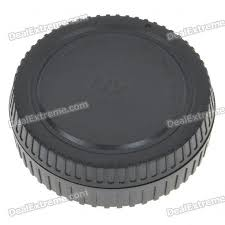 Camera Body + <b>Rear</b> Lens Cap Cover Set for Samsung NX