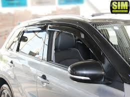 <b>Дефлекторы окон</b> для <b>Suzuki</b> Vitara LY (2015-2020) SIM (арт ...