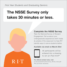 rochester institute of technology help improve by spending a bit of your day co
