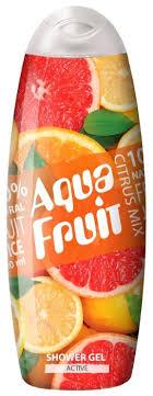 <b>Гель для душа AQUAFRUIT</b> citrus mix active — купить по выгодной ...