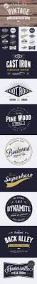 17 best ideas about logo design logo 8 customizable vector vintage style logo designs