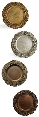 charger plates decorative: plate chargers loving these for weddings parties and events