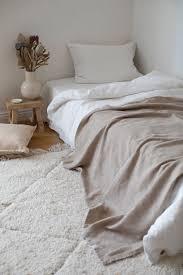 <b>Комплект постельного белья</b> из умягчённого льна <b>Белый</b>