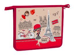 """<b>HATBER</b> Папка для <b>тетрадей</b> """"Bonjour Paris"""" формата <b>А5</b> на ..."""
